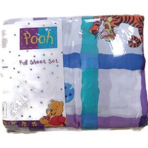 90's Winnie the Pooh Rare Full Bedsheets Set